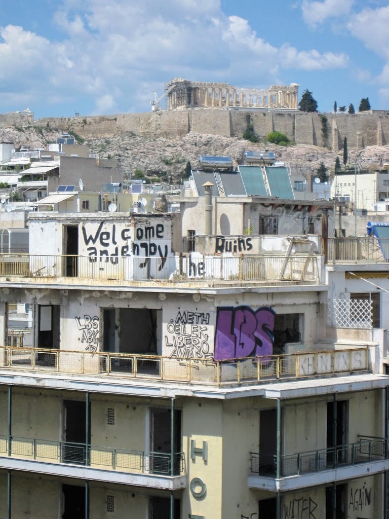 Welcome and enjoy the ruins – Athen im Sommer 2017