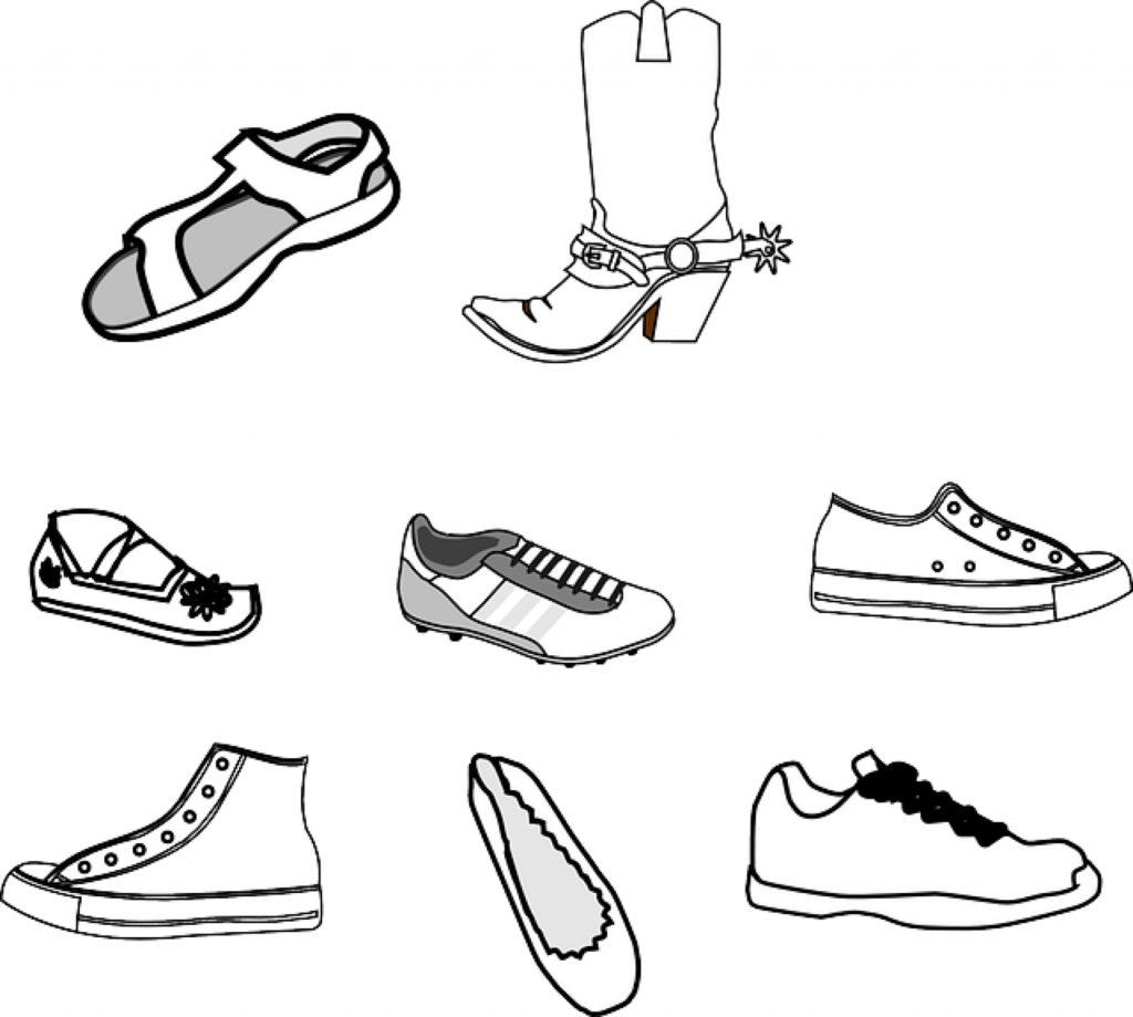 So wird ein Schuh draus.... (Bild: Clker-Free-Vector-Images auf Pixabay)